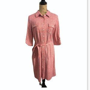 J. McLaughlin Button Down Wrap Dress